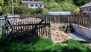 Komposthaufen anlegen: Kompostplatz