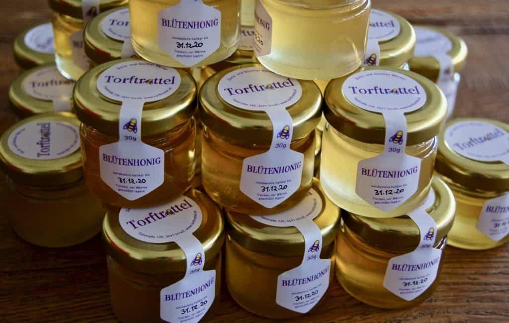 Abgefüllter Honig