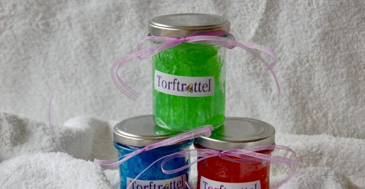 selbstgemachtes Duschjelly