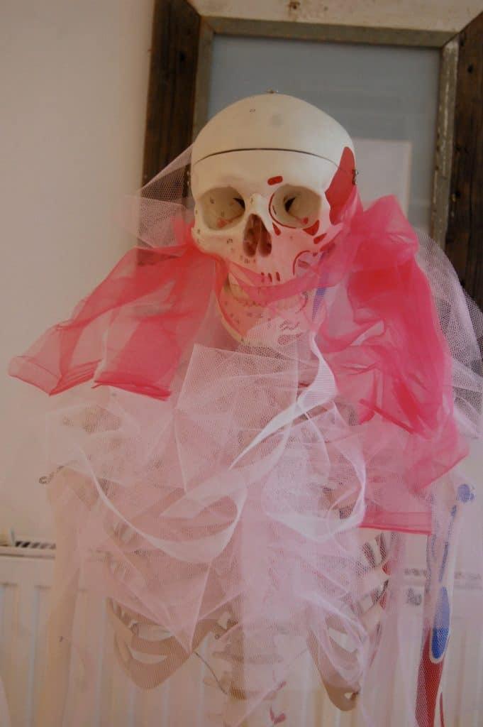 ... und dann auf Skelett Otto zwischengelagert :-)