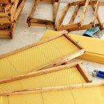 Bienenstock-Mittelwände bereitmachen