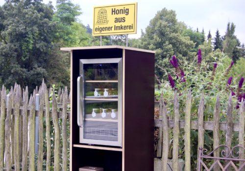 Honigverkaufsstand