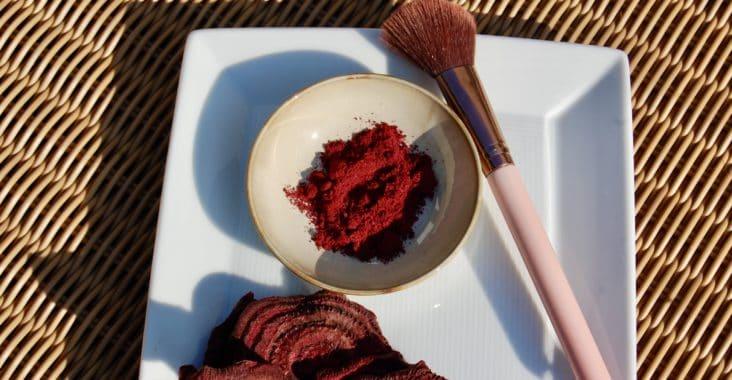 Rouge aus roten Rüben