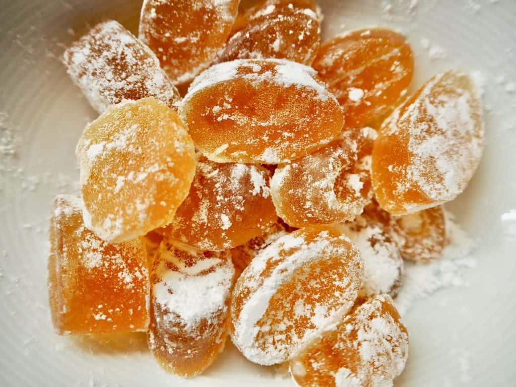selbstgemachte Honigzuckerl