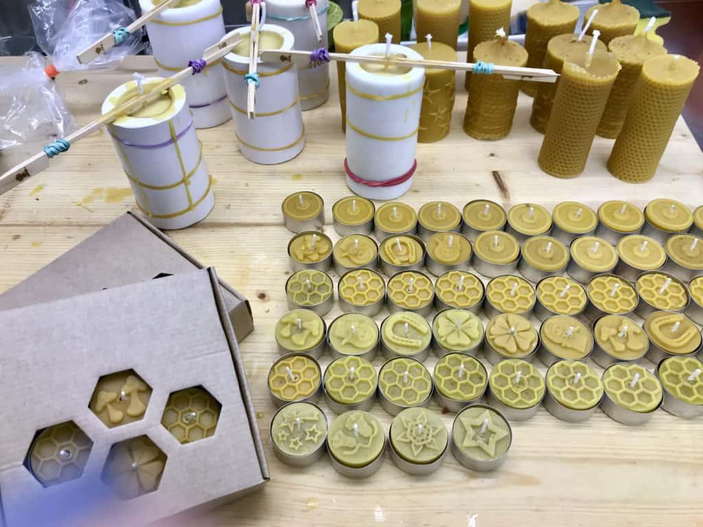 Kerzen-Herstellung