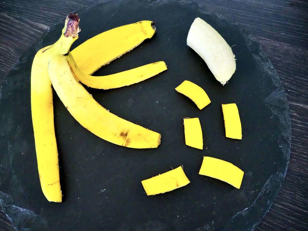 Bananenschale wiederverwenden in der Küche
