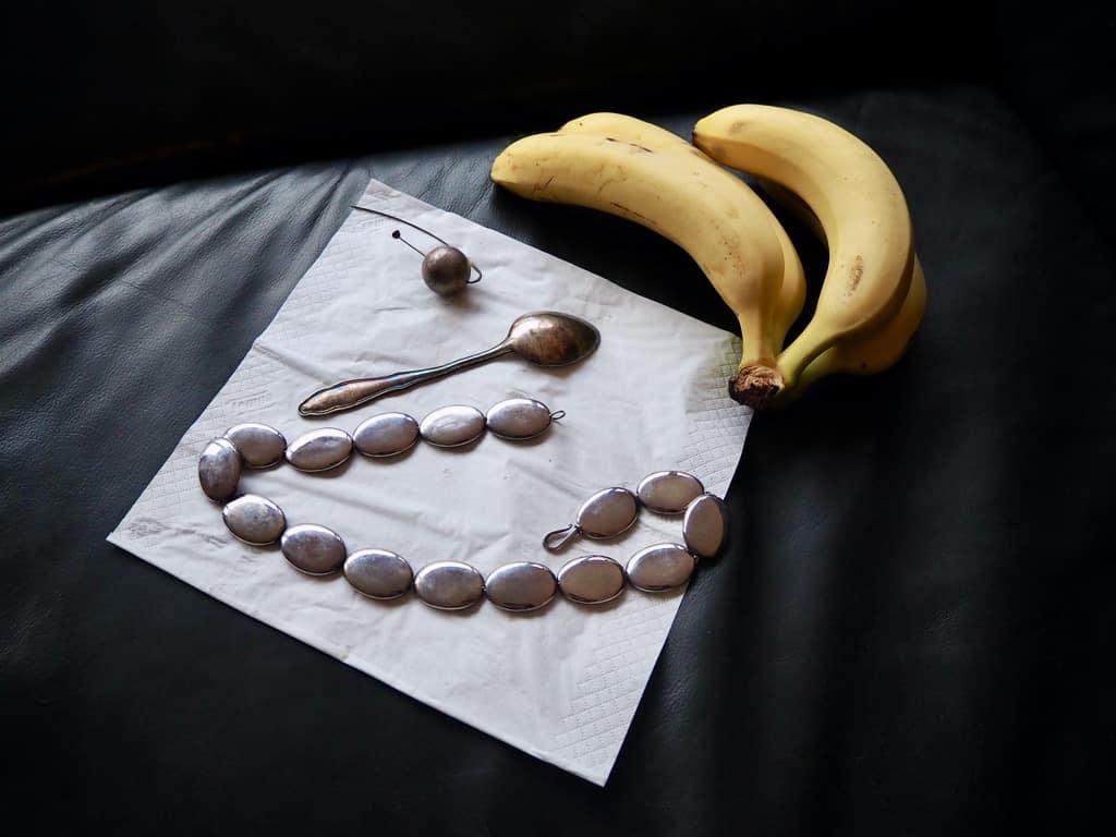 Polieren mit Bananenschalen