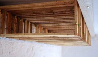 Rähmchen für Bienenbeuten aufbewahren