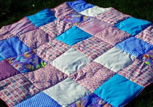 Picknickdecke selber machen
