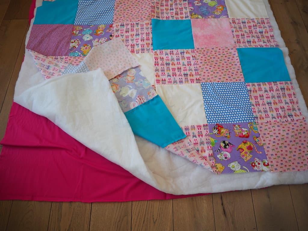 Schichten für Decke übereinanderlegen