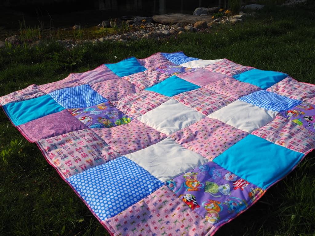 selbstgemachte Picknickdecke
