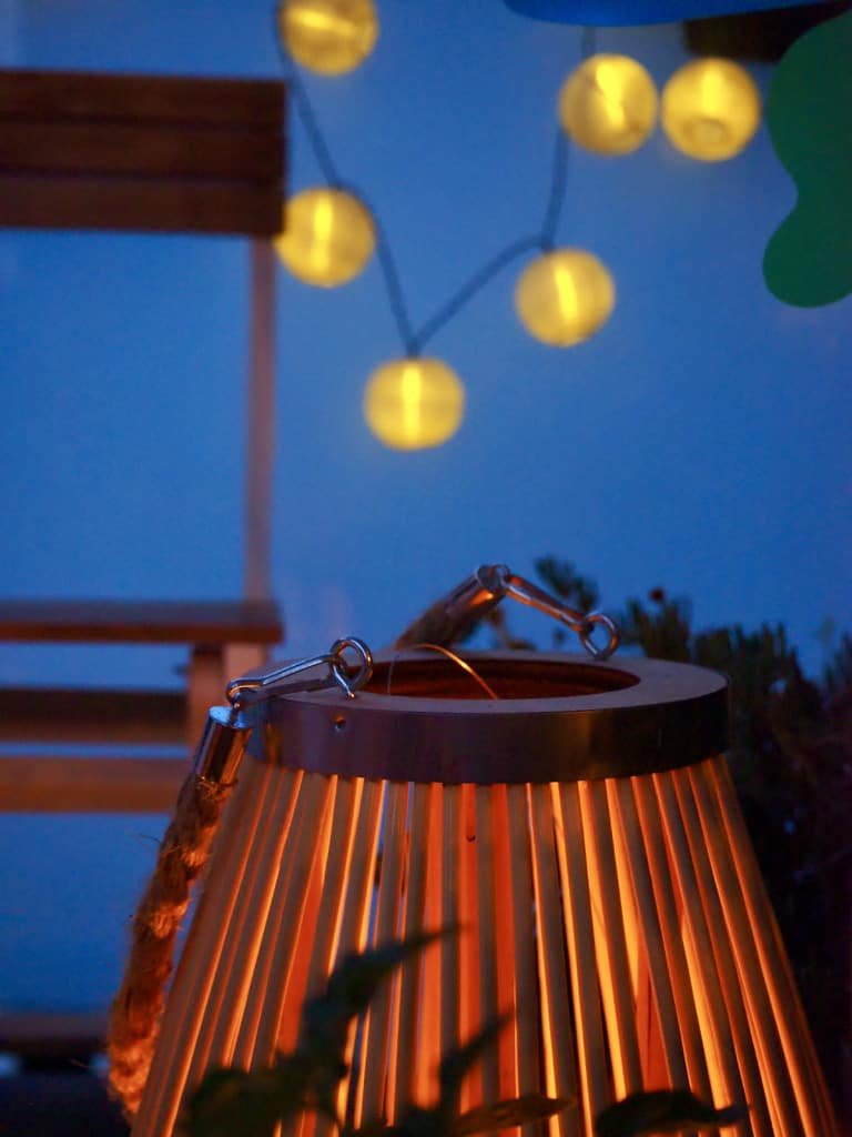 Schnelle Balkon-Umgestaltung: Balkonbeleuchtung