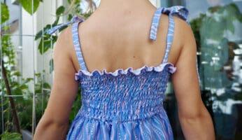 gesmoktes Kinderkleid nähen