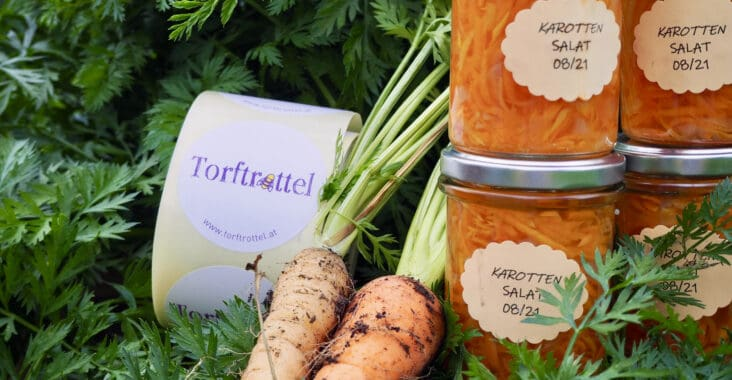 Karottensalat einkochen