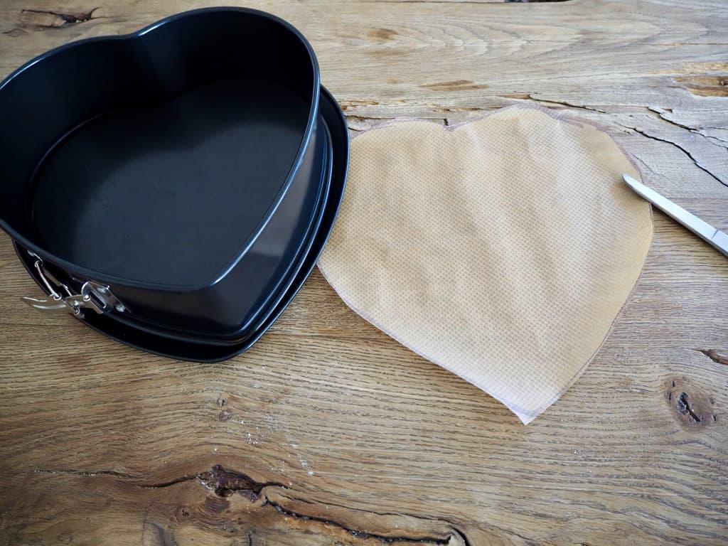 Herz-Backform für Tarte Tatin