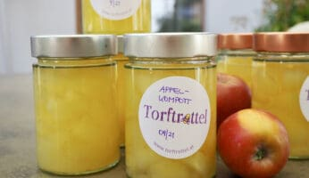 Rezept für Apfelkompott